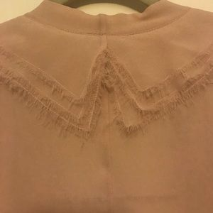 CHANEL Tops - Chanel sleeveless, pink blush blouse